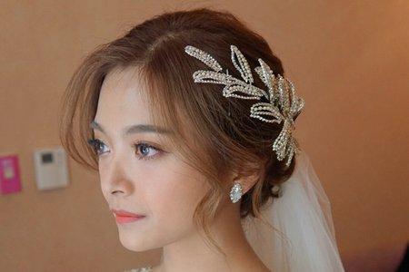 湘翎shan make-up studio 紫妤定結晚宴