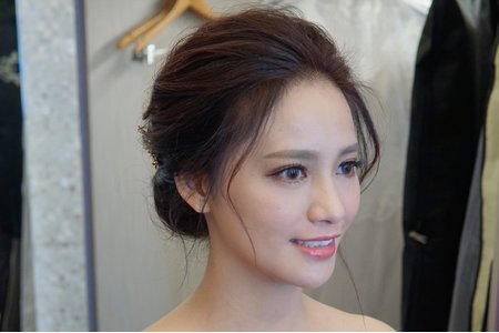 湘翎Shan make-up studio 張意定結午宴