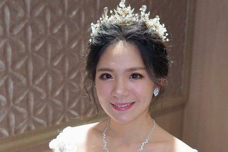 湘翎Shan make-up studio 佩玉訂結午宴