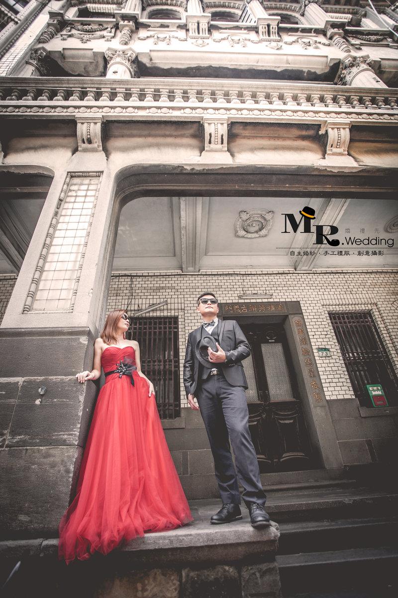 MR.wedding婚紗套組$48800作品