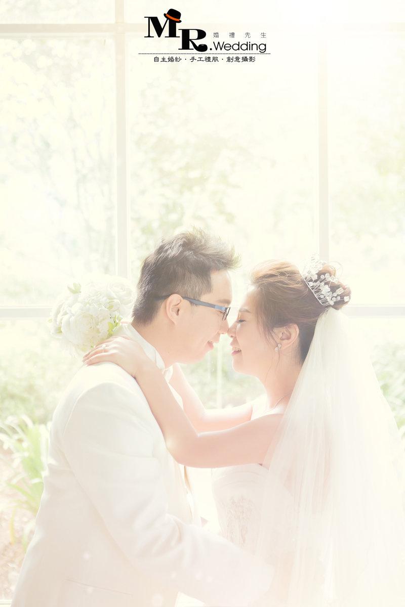 MR.wedding婚紗套組$36800作品