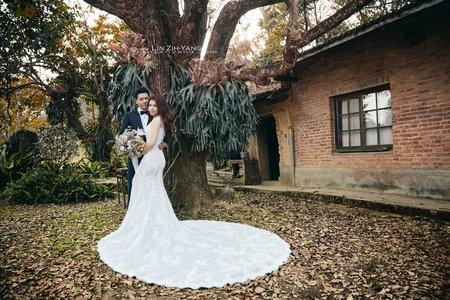 Pre-Wedding [ 中部婚紗 - 樹林草原系列婚紗 ] 婚紗影像 20171215