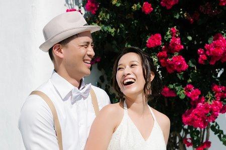 在最幸福的婚禮時刻深吻 / 墾丁洋老院民宿