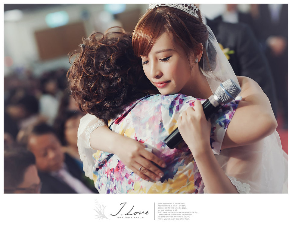 《台北婚攝》淚光中的幸福模樣 _ 民權16香榭玫瑰園 (27) - J-Love 婚禮攝影團隊《結婚吧》