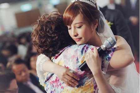 J-Love婚攝團隊/民權16香榭玫瑰園/ 淚光中的幸福模樣