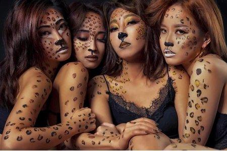 萬聖節彩繪動物彩繪造型專業商業彩妝
