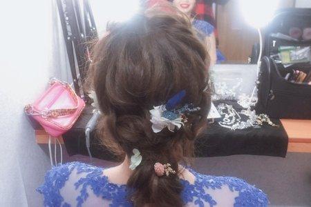 浪漫甜美日系編髮造型楊梅福記