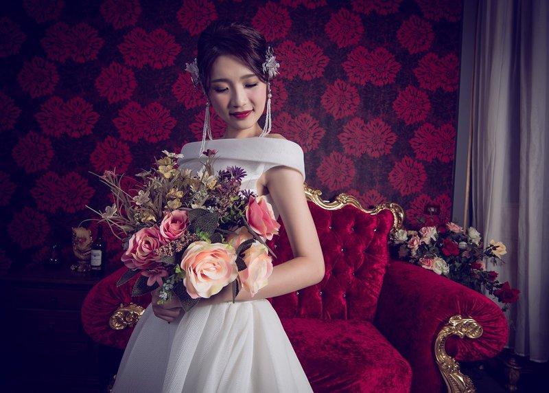 婚紗造型包套作品