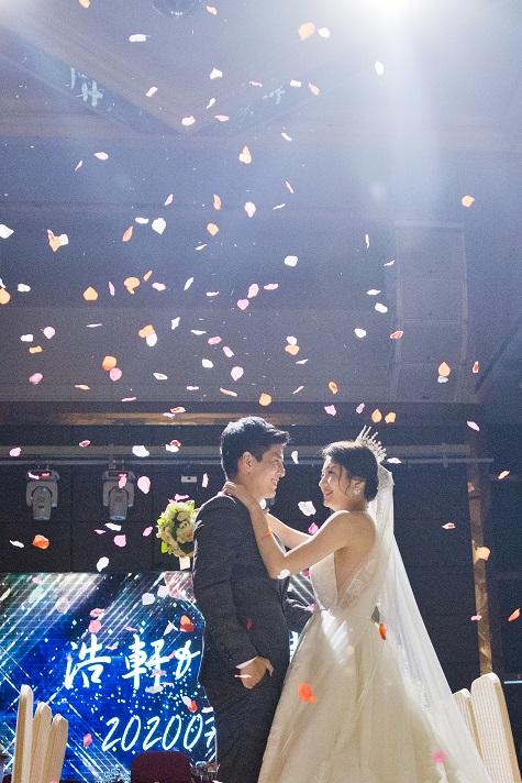 浪漫氛圍設備-空飄花瓣機