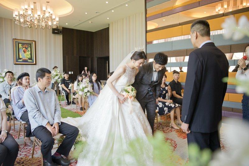 花藝布置室內證婚