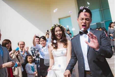 W + P  心之芳庭戶外證婚 婚禮攝影