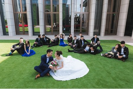S + H 台北萬豪酒店 婚禮攝影