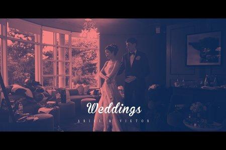 A + V 英國 海外婚禮攝影 喜喜鵲