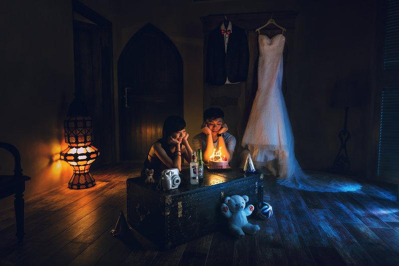Creative Suite 創造婚紗作品