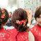 文訂訂婚髮型_中式旗袍訂婚造型