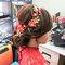 文訂訂婚髮型 (1)旗袍髮型造型