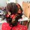 文訂訂婚髮型 (2)旗袍髮型造型