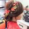 文訂訂婚髮型 (3)旗袍髮型造型
