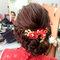 文訂訂婚髮型 (6)旗袍髮型造型