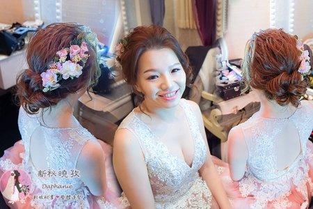 訂婚造型_花嫁新娘_訂婚髮型