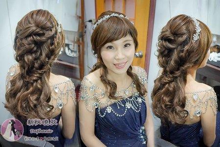 敬酒髮型結婚宴客髮型(婷鈞)婚禮髮型