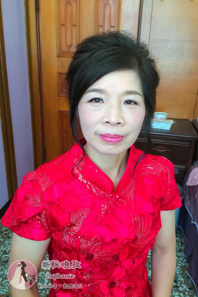 婆婆媽媽妝髮服務(二位以上才有到府服務)作品