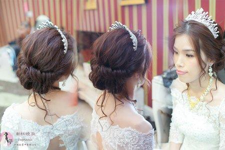 雲林新祕_結婚髮型宴客補請妝髮造型(泳溱)