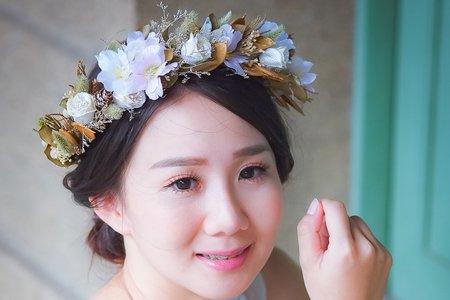 白紗妝髮婚紗造型外拍(諾芸)