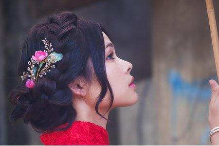 中式造型_婚紗造型_旗袍造型外拍