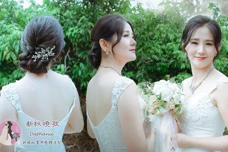 氣質典雅造型(琍敏)白紗造型婚紗外拍