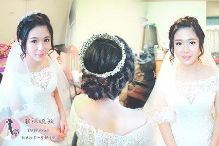 迎娶造型(芳晴)白紗髮型