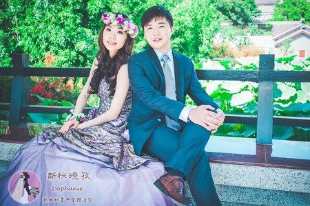 新娘髮型婚紗造型外拍(庭瑜)