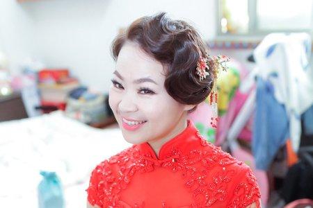 訂婚髮型_中式訂婚髮型(婚禮髮型)