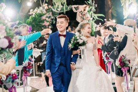 青青食尚花園會|凱薩廳X鬍丘美式婚禮婚紗攝影 HooChiu Photography