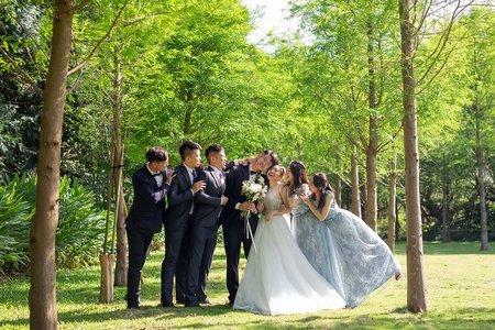 青青食尚花園會|落羽松森林XAppleFace Wedding