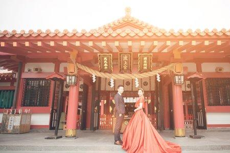 海外婚紗/婚紗攝影/江宜學/日本沖繩