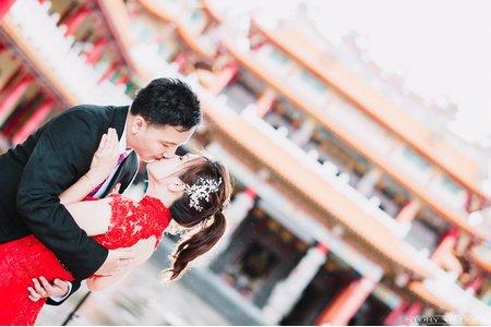台南婚禮/婚禮攝影/江宜學/七股寶安宮代天府