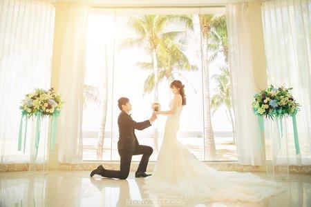 高雄婚禮/婚禮攝影/江宜學/西子灣沙灘會館
