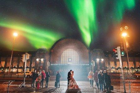 北歐婚紗/婚紗攝影/江宜學/赫爾辛基