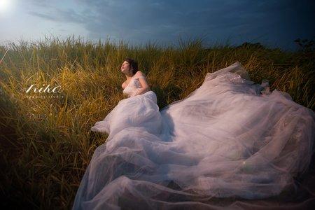 【莉卡婚紗】晨光下的妳如此閃耀動人