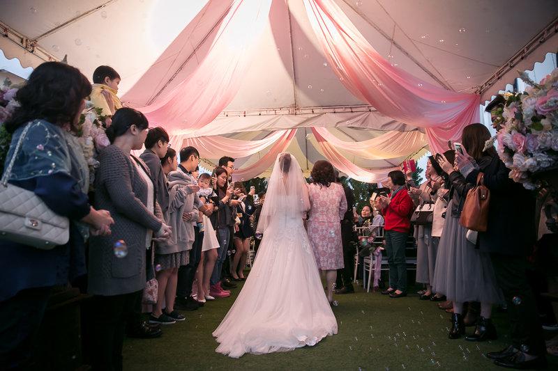歐式戶外婚禮 18萬夢幻套裝作品