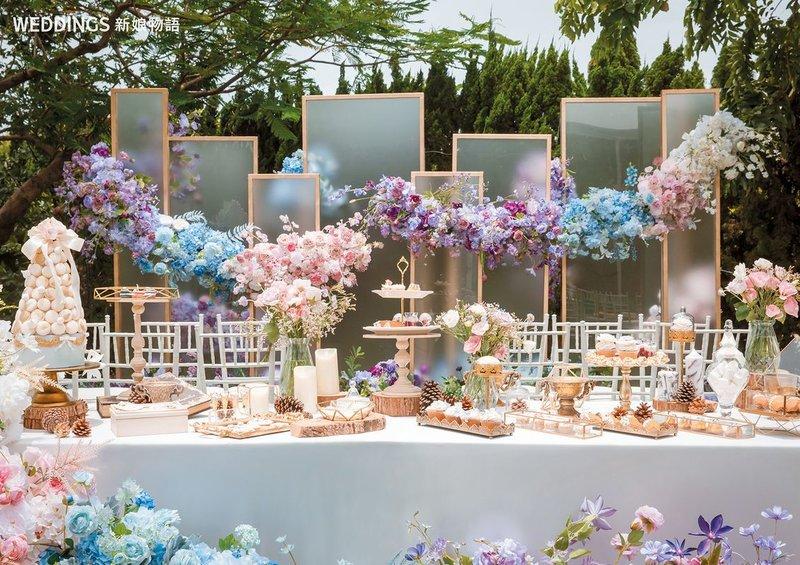 歐式戶外婚禮 20萬夢幻套裝作品