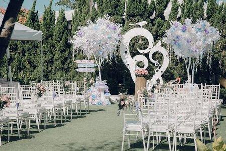 歐式戶外婚禮 25萬夢幻套裝