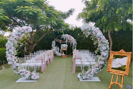 歐式戶外婚禮 18萬夢幻套裝
