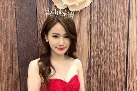 兩種不同的皇冠造型 既甜美又性感 ?米妃Mifie's makeup studio ?