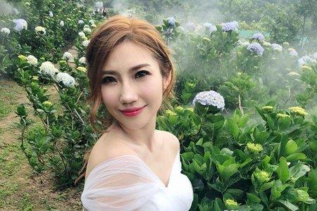 最熱門夢幻婚紗聖地! 繡球花主題婚紗 🌸米妃Mifie's makeup studio 🌸