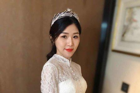 韓系風格婚宴造型 🌸 米妃造型工作室