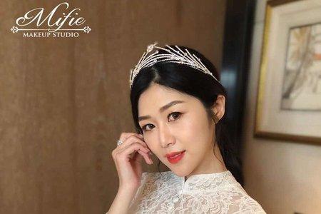 韓系風格婚宴造型🧡-米妃造型工作室