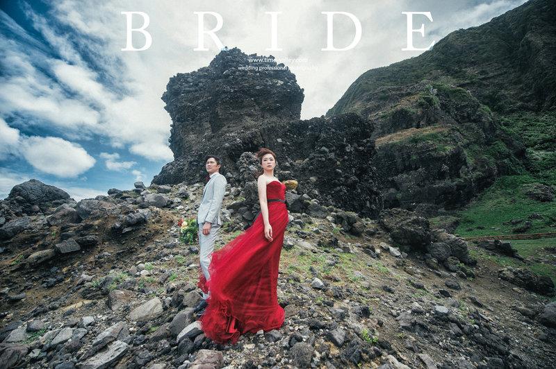 蘭嶼婚紗方案作品
