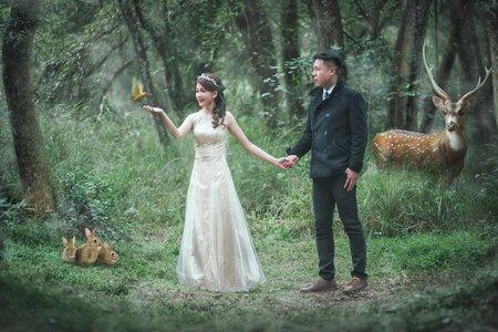 時光流域 | 童話故事婚紗| 客照